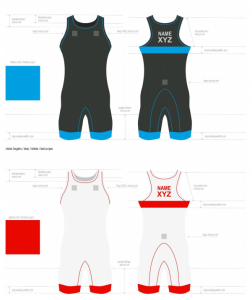 Singlet striping locations